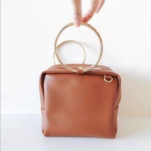 🎉Summer SALE Circle hardware cube bag